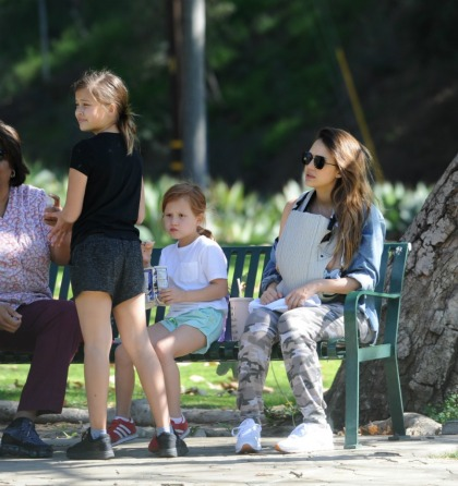 Jessica Alba on motherhood: 'The things you took for granted become luxuries'