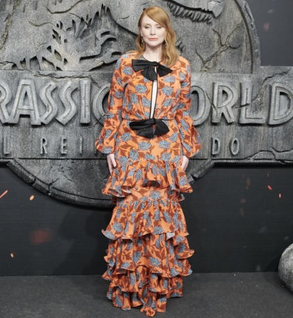 Let's hope Bryce Dallas Howard didn't have to buy this Johanna Ortiz dress