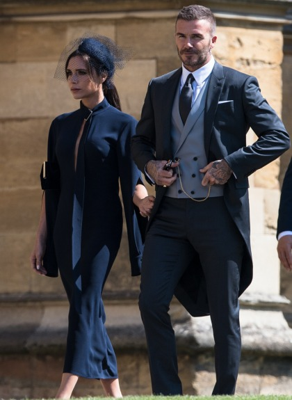 Victoria Beckham thought Meghan Markle's wedding gown was 'absolutely beautiful'