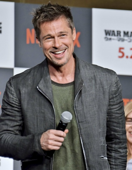 Brad Pitt is staying in LA this summer, and he wants Neri Oxman to come to him