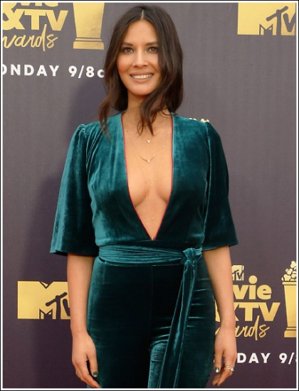 Olivia Munn's Unleashes Her Ginormous Braless Cleavage' Sweet Baby Jesus!