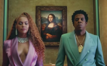 Beyonce & Jay-Z got permission to film in the Louvre because they visited it a few times