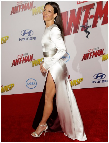 Evangeline Lilly Gets Leggy, Busty, And Bootylicious To The Max' WOW!