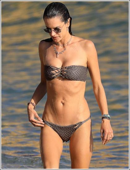 Alessandra Ambrosio's Ultra Sexy New Bikini Pictures Will Melt Your Eyeballs
