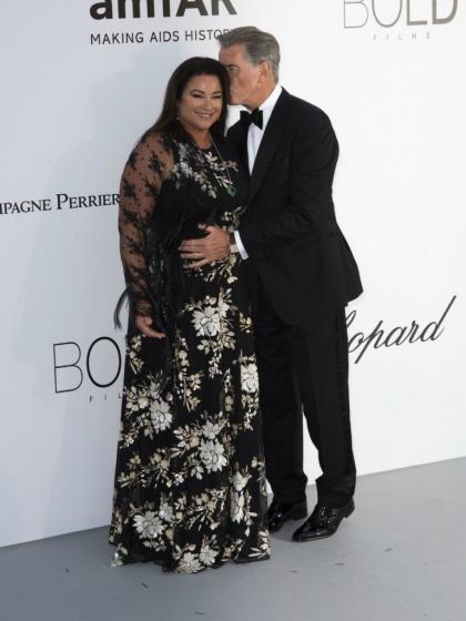 Pierce Brosnan celebrates his 25 year anniversary with Keely Shaye Smith