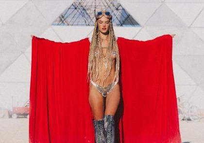 Alessandra Ambrosio Is Burning Man Hot