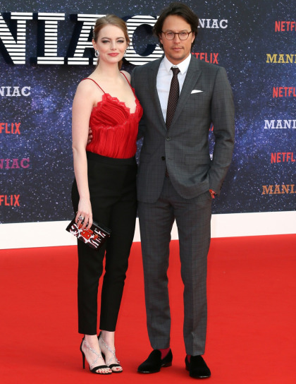 Emma Stone in Louis Vuitton at the London premiere of 'Maniac?: cute or budget'