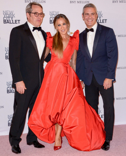 Sarah Jessica Parker wore a taffeta monstrosity to the NYC Ballet's Fall Gala