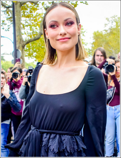Olivia Wilde Looking All Kinds Of Braless And Busty, Oh My!