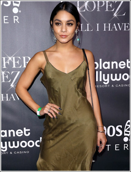 Vanessa Hudgens Drops Some Sexy Braless Cleavage Action