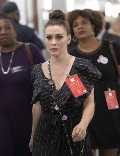 Alyssa Milano's op-ed: sexual violence 'exists at every level of our national institutions'