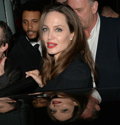 Angelina Jolie was in London for the 'Fighting Stigma Through Film' festival