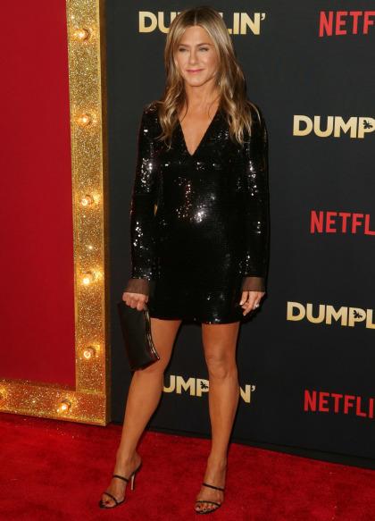 Jennifer Aniston in Stella McCartney at the LA 'Dumplin' premiere: cute or boring'
