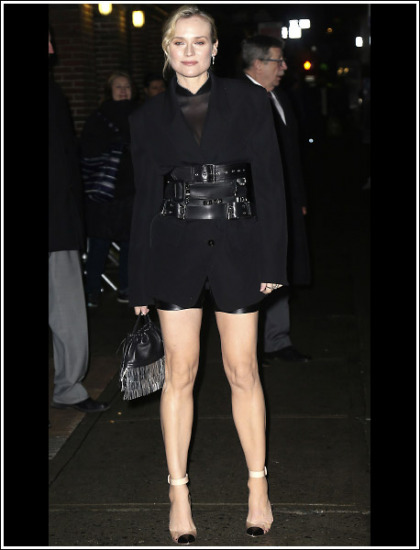 Diane Kruger Unleashes Her Insanely Sexy Legs