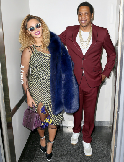 People: Beyonce & Jay-Z are totally fine, so don't even worry about them