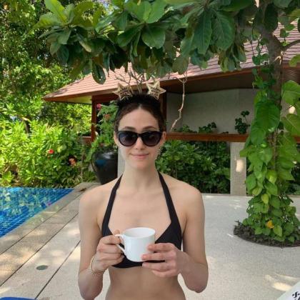 Emmy Rossum In A Bikini