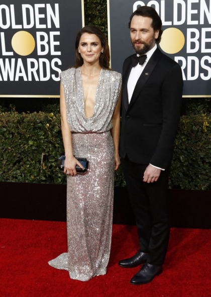 Keri Russell in Monique Lhuillier at the Globes: fabulous or dated?