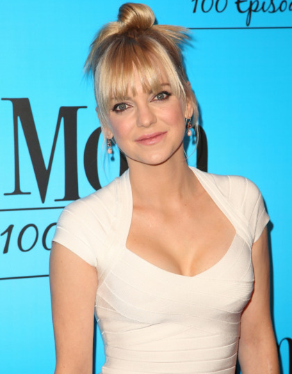 Anna Faris congratulated Chris Pratt on his engagement to Katherine Schwarzenegger