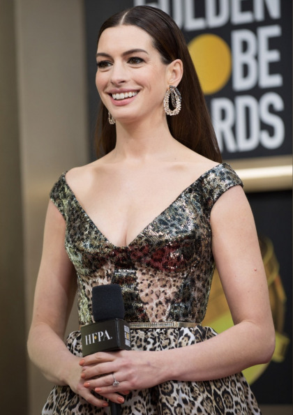 Anne Hathaway signs on to play the lead role in the latest adaptation of 'The Witches'