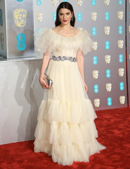 Rachel Weisz looked like she was going to the Country Music Awards, not the BAFTAs