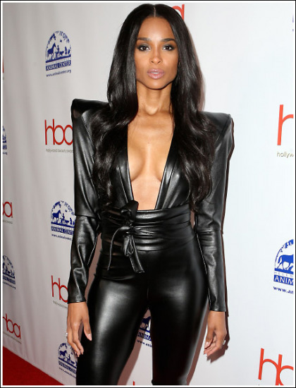 Ciara Drops Some Seriously Sexy Braless Cleavage Action