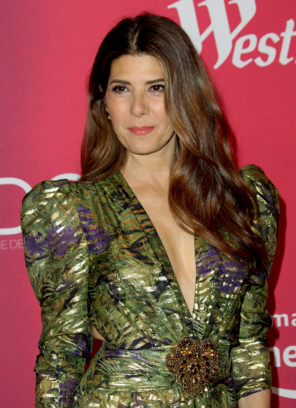 Marisa Tomei in Dundas at the Costume Designer's Awards: tacky or awesome'