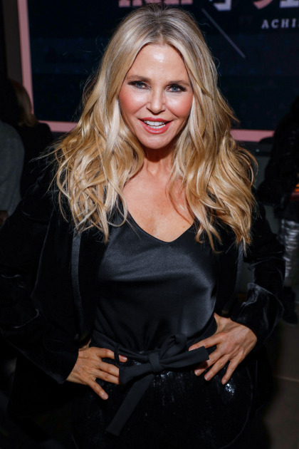 Christie Brinkley: If I?m lucky, I will be running around with my hard-earned wrinkles