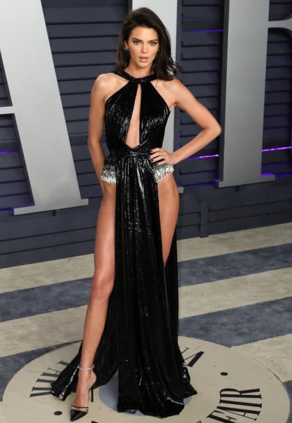 Kendall Jenner in Rami Kadi at the VF Oscar party: tacky, cheap or fun?