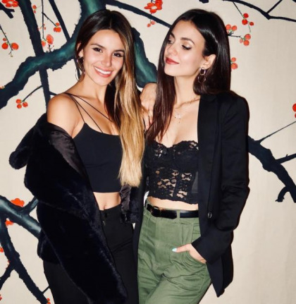 Victoria Justice And Her Sister Work It Real Good