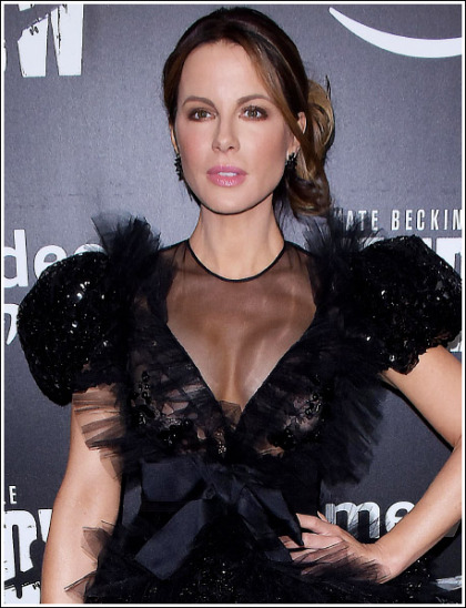 Kate Beckinsale Busting Out Her Massive/Perfect Braless Cleavage' WOW!