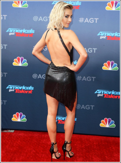 Julianne Hough Gets Insanely Leggy And Bootylicious' WOW!