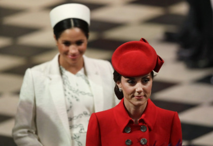Duchess Kate 'has no issue with Meghan,' is making 'a real effort' to get along