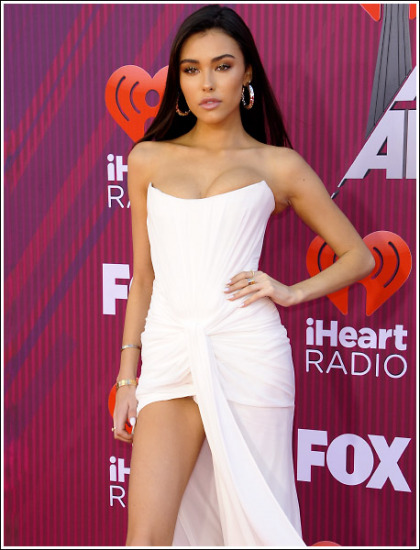 Madison Beer Unleashes Her Massive Braless Cleavage And Insanely Sexy Legs' Big Time!