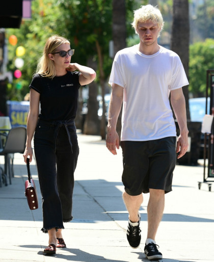 Emma Roberts dumped Evan Peters and now she's dating' Garrett Hedlund?!'