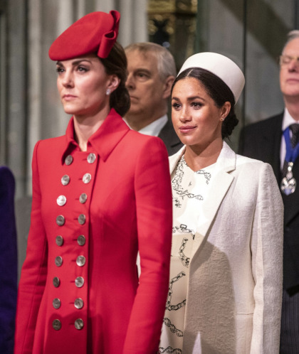 Duchess Meghan 'was under no pressure to do things the same' as Kate