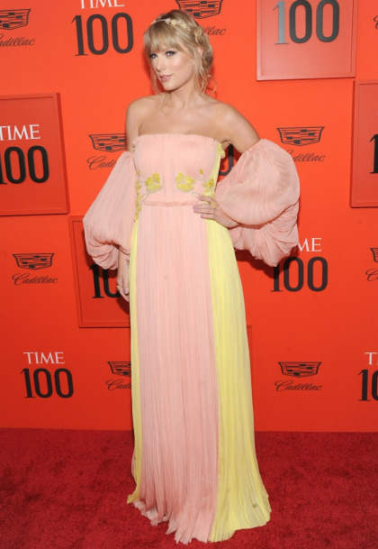 Taylor Swift brings out her pastel fairy-queen drag for the Time 100 gala