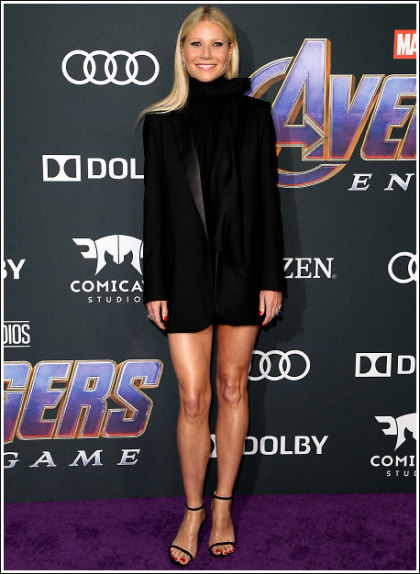 Gwyneth Paltrow Unleashes An Impressive Leg Show For Avengers: Endgame!