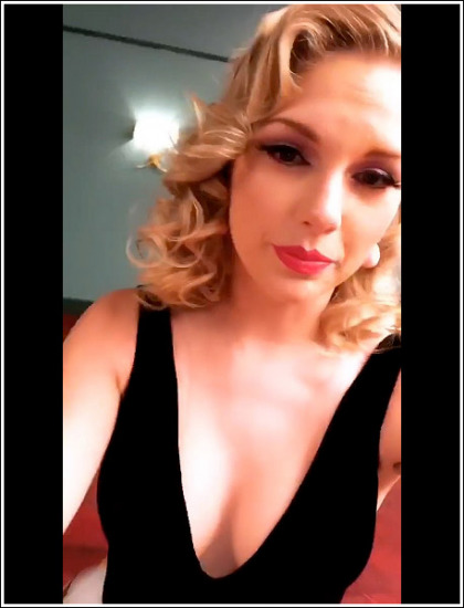 Taylor Swift Busting Out Her Massive New Cleavage Like Bananas' WOW!