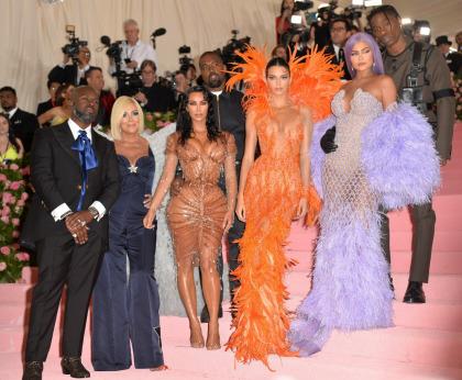 Kim Kardashian in custom Thierry Mugler at the Met Gala: damp camp?