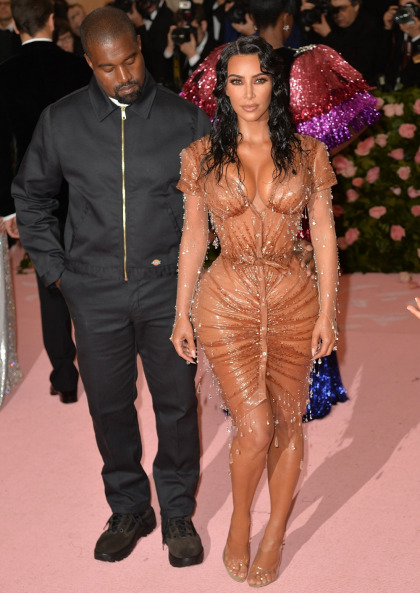 Kim Kardashian & Kanye West's gestational carrier went into labor yesterday