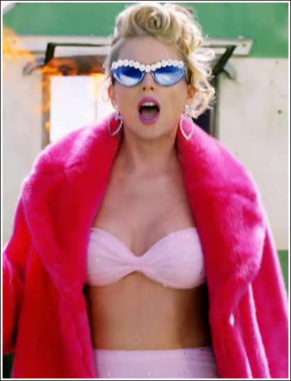 Taylor Swift Busting Out Her Way Bigger Cleavage In Her New Music Video' WOW!