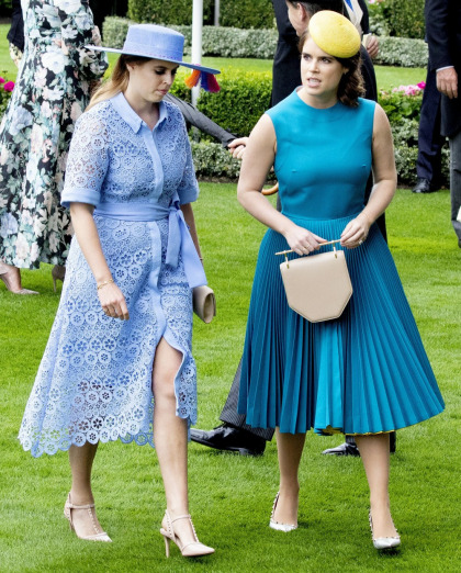 Princess Beatrice & Eugenie have a hard time dealing with style & weight criticism